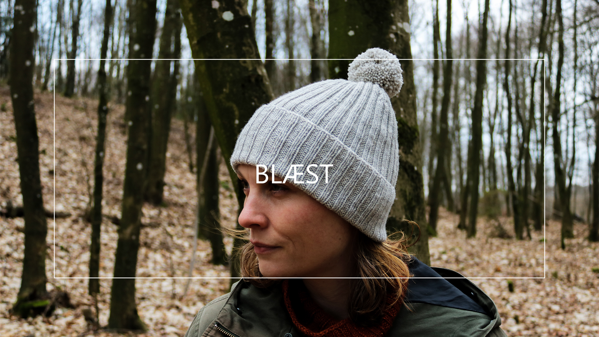 Blæst - a simple knitted hat